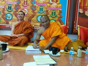 Monks Support Ceroc in Minnesota 1